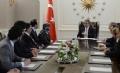 Sayın Cumhurbaşkanı Abdullah Gül, Ensar Vakfı Ankara Şubesi Başkanı Av. Ercan Poyraz ve beraberindeki heyeti kabul etti.