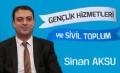 Ensar Buluşmaları; Gençlik Hizmetleri Genel Müdürü Sn. Sinan AKSU