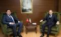 Gençlik ve Spor Bakanı Akif Çağatay Kılıç bey'i Makamında ziyaret ettik.