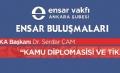 Ensar Buluşmaları; TİKA Başkanı Dr. Serdar ÇAM