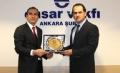 Ensar Buluşmaları? nın bu haftaki konuğu İŞKUR Genel Müdürü Sn. Nusret YAZICI Türkiye?de İşçi ve Kamu İstihdamı Konulu konferans verdi