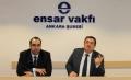 Ensar Buluşmaları?nın bu haftaki konuğu AK Parti Düzce Milletvekili Sn. Osman Çakır ?Siyaset ve Değerler? konulu bir konferans verdi