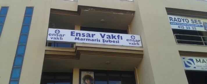 MARMARİS ENSAR VAKFI ŞUBESİ