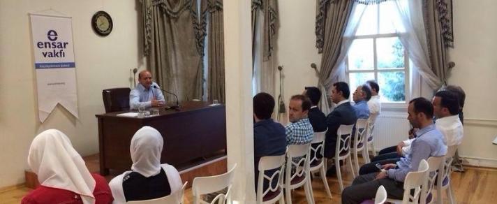 Sebahattin Zaim Üniversitesi Çarşamba Sohbetleri