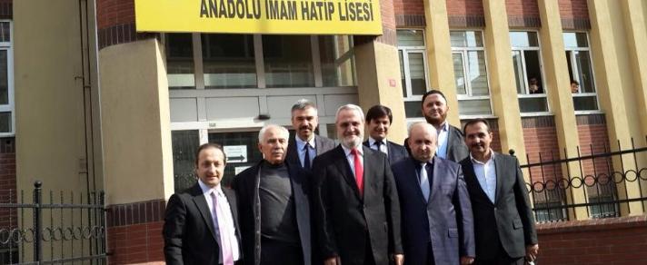 Küçükçekmece Yavuz Selim Anadolu İmam Hatip Lisesi  Ziyareti