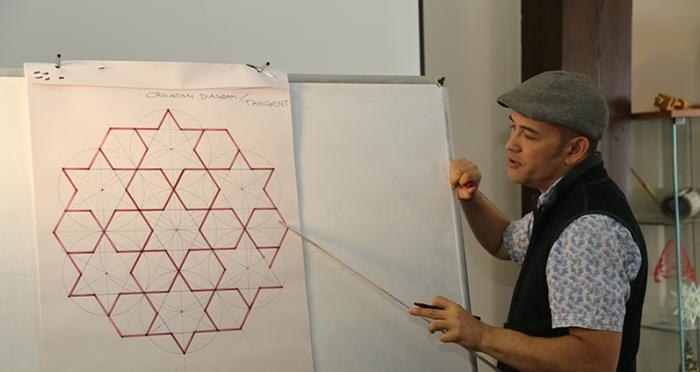 İslam Sanatlarında Geometrik Süslemeler ve Analizleri Workshop Çalışması