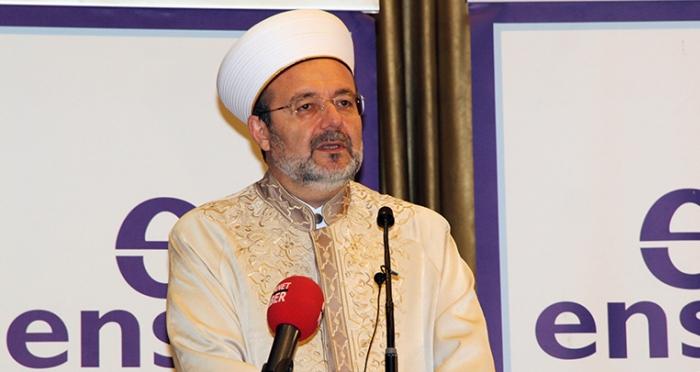 Diyanet İşleri Başkanı Prof. Dr. Mehmet Görmez'in Ensar Vakfı Şubeleri 2015 Büyük Türkiye Buluşması Konuşması