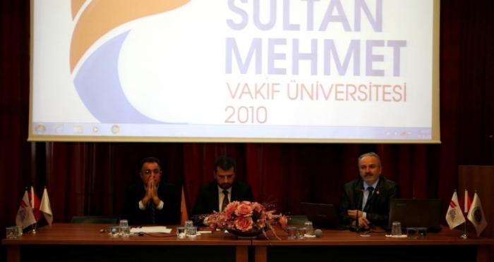 Fatih Sultan Mehmet Vakıf Üniversitesi Sivil Toplum ve Gençlik Paneli'nde gençlerle buluşuldu