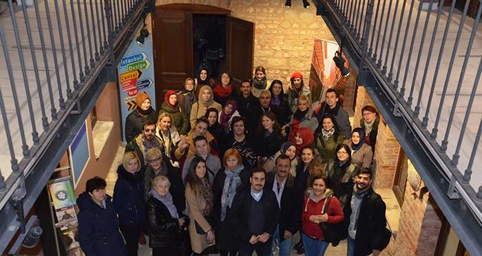 Yunus Emre Enstitüsü'nden İstanbul Tasarım Merkezi'ne Ziyaret