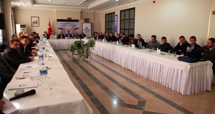 Ensar Vakfı 13. Bölge Toplantısı Ensar Vakfı Yalova Şubesi'nin ev sahipliğinde yapıldı
