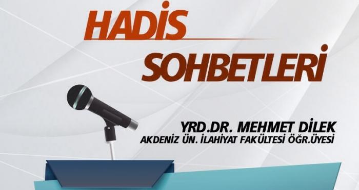 Ensar Vakfı Antalya Şubesi'nde Hadis Sohbetleri Yrd. Doç. Dr. Mehmet Dilek ile devam ediyor