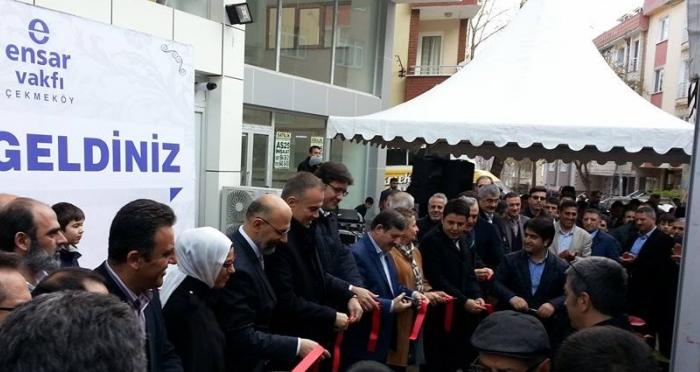 Ensar Vakfı gönüllüleri Çekmeköy'de buluştu: Ensar Vakfı Çekmeköy Şubesi açıldı