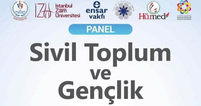 İstanbul Sabahattin Zaim Üniversitesi'nde Sivil Toplum Ve Gençlik paneline davetlisiniz