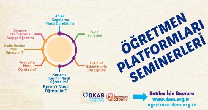 Öğretmen Platformu Seminerleri başvuruya açıldı