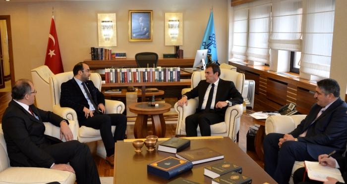 Ensar Vakfı Ankara Şubesinden Turizm Bakanı Mahir Ünal'a ziyaret