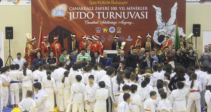 Çanakkale Zaferi 100. Yılı Minikler Judo Turnuvası
