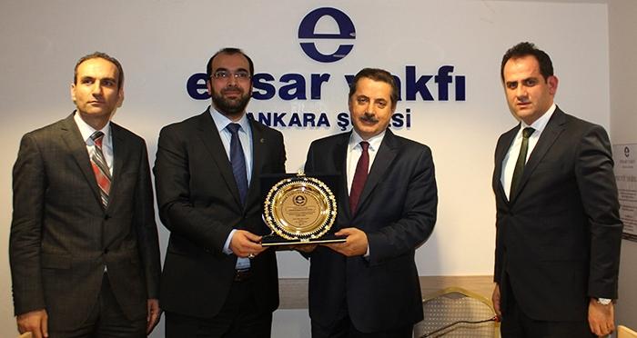 Ankara Ensar Buluşmaları'nın Bu Haftaki Konuğu Faruk Çelik