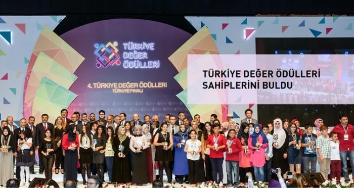 Türkiye Değer Ödülleri Sahiplerini Buldu