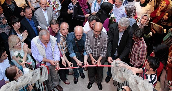 Mahmut Peşteli ve Öğrencileri Ebru Sergisi Açıldı