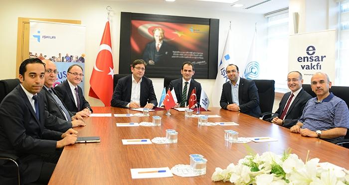 Ensar Vakfı ile Türkiye İş Kurumu Arasında İşbirliği Protokolü Yapıldı