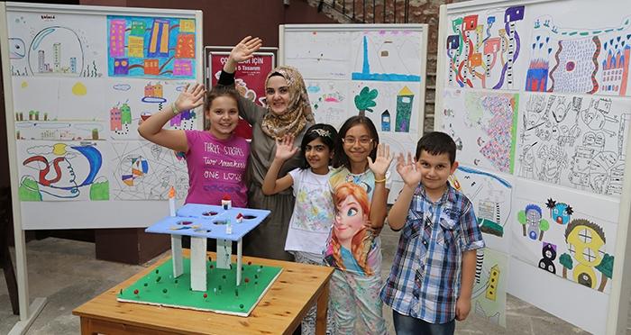 Çocuklar İçin 5 Gün 5 Tasarım Programı