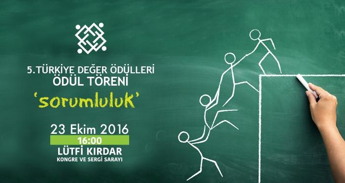 Türkiye'nin Değerleri Ödüllendiriliyor