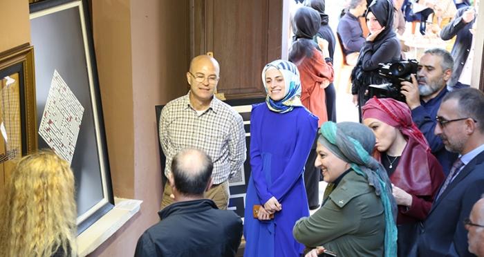'Özgün Hat Sergisi' Açılışı Sanatseverlerin Katılımıyla Gerçekleşti