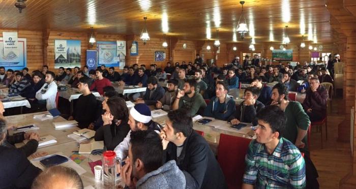 Trabzon Ensar Vakfı 100 KTÜ öğrencisi ile doğa kampında