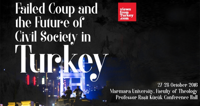 Konferans: 'Başarısız Darbe Girişimi Sonrasında Türkiye'de Sivil Toplumun Geleceği' aktarılıyor