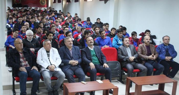 Ensar Vakfı Samsun Şubesi ve Namaz Gönüllüleri Platformu işbirliğinde Ahmet Bulut ile: 'Aşka Davet Beş Vakit Namaz'