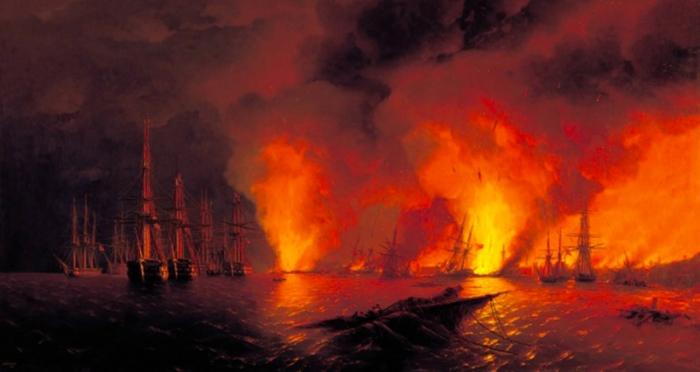 Sinop'ta 30 Kasım Deniz Şehitleri resim sergisi açıldı