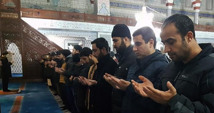 Bingöl'de Sabah namazında Halep ve Arakanlılar için gıyabi cenaze namazı kılındı