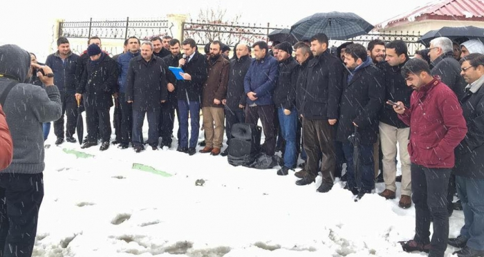Bitlis'te 27 STK'dan ortak basın açıklaması: Halep'i boğan sessizliğimiz olmasın!