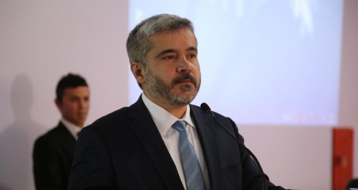 Aksaray Üniversitesi Rektörü Prof. Dr. Yusuf Şahin'in Ensar Vakfı'nda 'Şehirlerin Ruhu'na dair bir seminer verdi