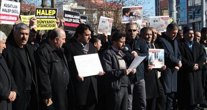 Muş STK'ları Halep için birleşti: Acilen el uzatmalıyız!