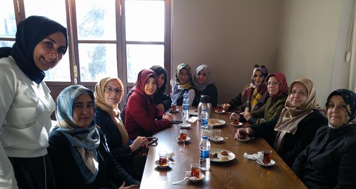 Ensar Vakfı Hanımlar Komisyonu Çanakkale/Lapseki Şubesinden İTM Ziyareti