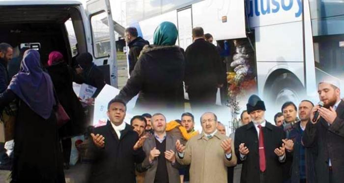 STK yardımları Halep için Trabzon'dan yola çıktı