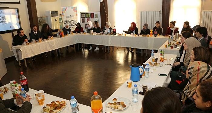 Uluslararası Öğrenciler Akademisi Kapanış Programı