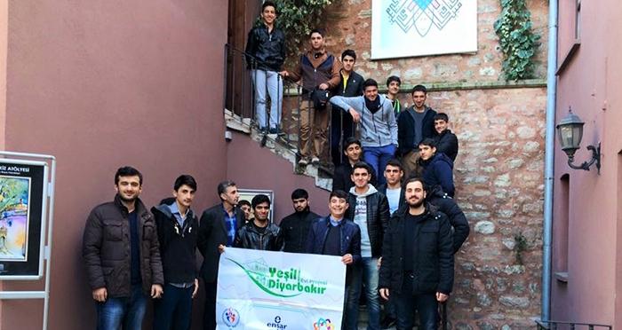 Ensar Vakfı Manisa ve Diyarbakır Şubelerinden İTM'ye Ziyaret