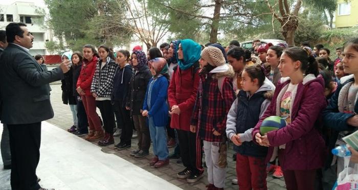 Yatağan'da TEOG sınavında başarı gösteren öğrencilere ödül