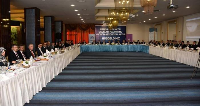Manisa İmam Hatip Okulları Platformu Koordinasyon Toplantısı yapıldı