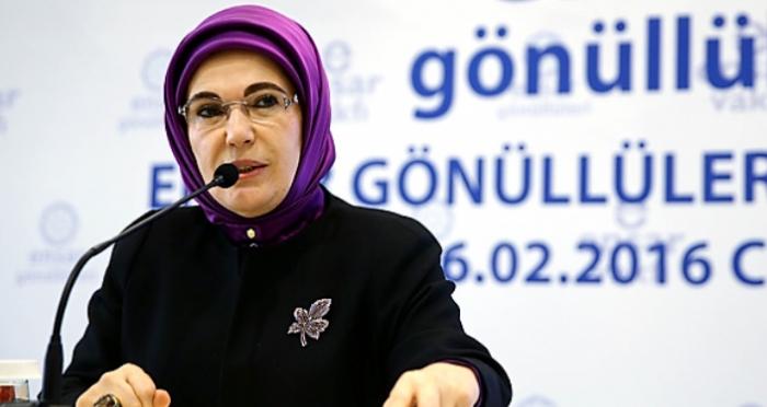 Emine Erdoğan: Ensar gençliğini artık yepyeni meseleler ve sorumluluklar bekliyor
