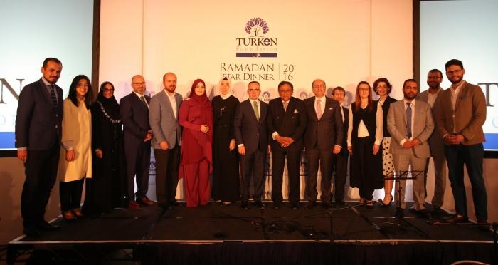 Türken Vakfı Londra'da iftar programıyla gönülleri buluşturdu