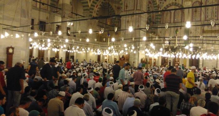 Namaz Gönüllüleri Fatih Camii'nde İstiklal Duası için bir araya geldi