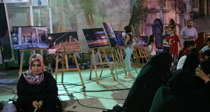 Ensar Vakfı Eyüp Şubesi tarafından düzenlenen fotoğraf sergisi sona erdi