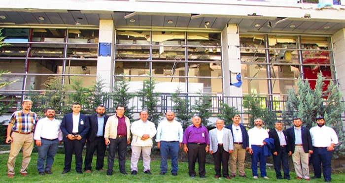 Çorum İnsani Değerler Platformu, Türkiye Büyük Millet Meclisi'ni ziyaret etti