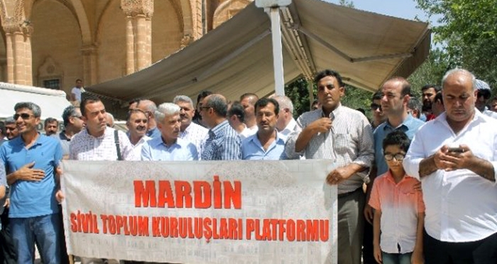 Mardin Sivil Toplum Kuruluşları Platformu terörü lanetledi