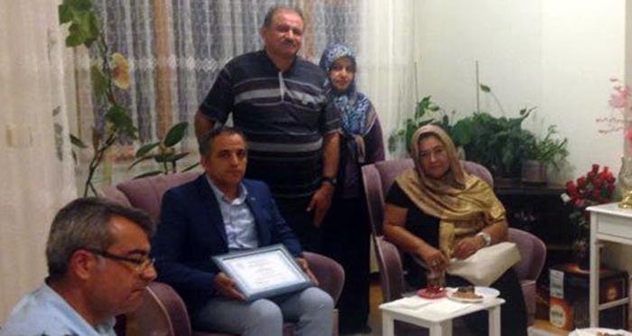 Antalya Birlik ve Kardeşlik Platformu'ndan şehit ailelerine ziyaret