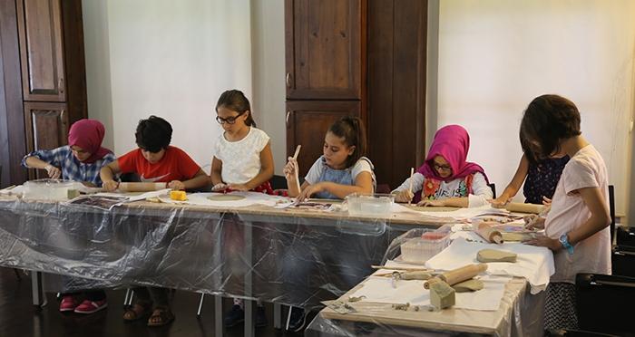 Çocuklarla 5 Gün 5 Tasarım Atölyesi 'Seramikle Tasarım Atölyesi'