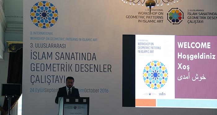 3.Uluslararası İslam Sanatında Geometrik Desenler Çalıştayı Açılış Paneli